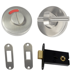 400 Series – Concealed Fix Lock and Indicator Set ~ Off Set Morticed with Disabled Gr